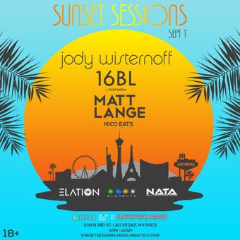 Sunset Sessions: Jody Wisternoff, 16BL & Matt Lange
