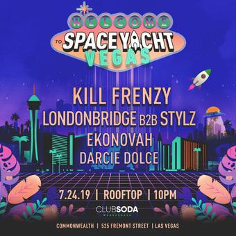 Club Soda x Space Yacht w/ KILL FRENZY