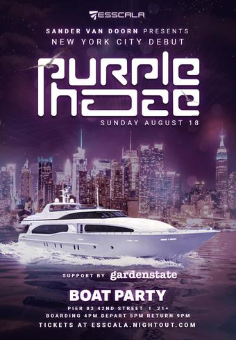 Sander Van Doorn Presents: Purple Haze (NYC Debut)