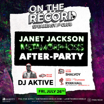 On The Record feat. JANET JACKSON AFTER-PARTY