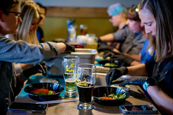 Sip & Sushi a GetFed Concepts Orignal @ Grist Brewing Company
