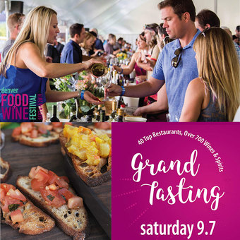 The 15th Annual Denver Food + Wine Festival Grand Tasting