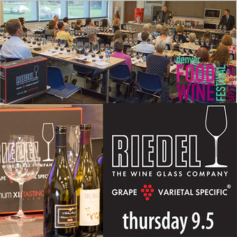 Riedel Wine Glass Seminar