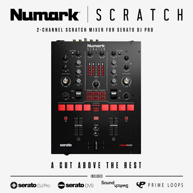Register for your chance to win a Numark Scratch 24-Bit 2