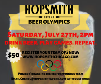 Hopsmith Beer Olympics