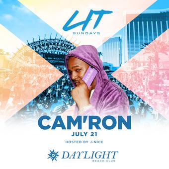 Cam'ron at DAYLIGHT Vegas