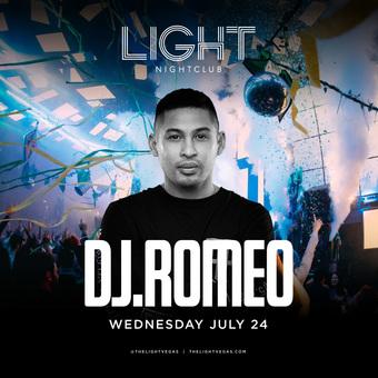 DJ Romeo at LIGHT Las Vegas