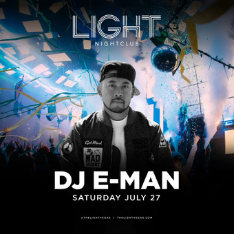 DJ E-Man at LIGHT Las Vegas