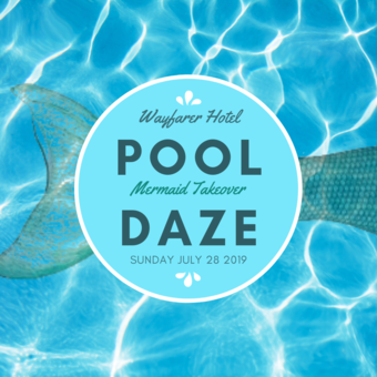 Pool Daze - Mermaid Takeover