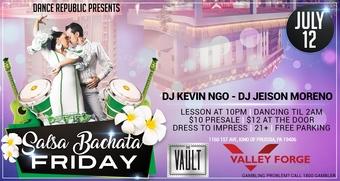 Salsa Bachatta Friday's