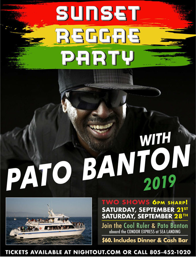 Sunset Reggae Party with Pato Banton night one