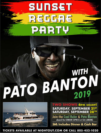 Sunset Reggae Party with Pato Banton night one - SOLD OUT