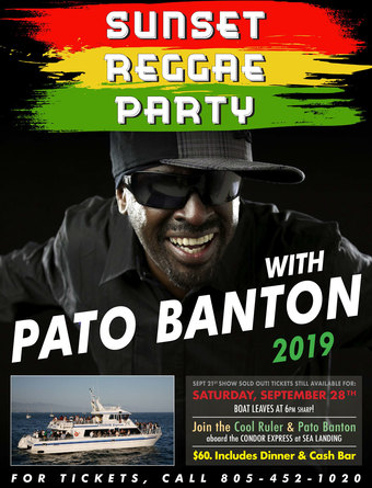 Sunset Reggae Party with Pato Banton