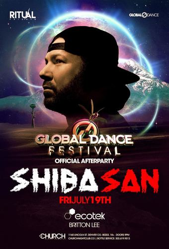 Shiba San: Official Global Dance Festival After Party