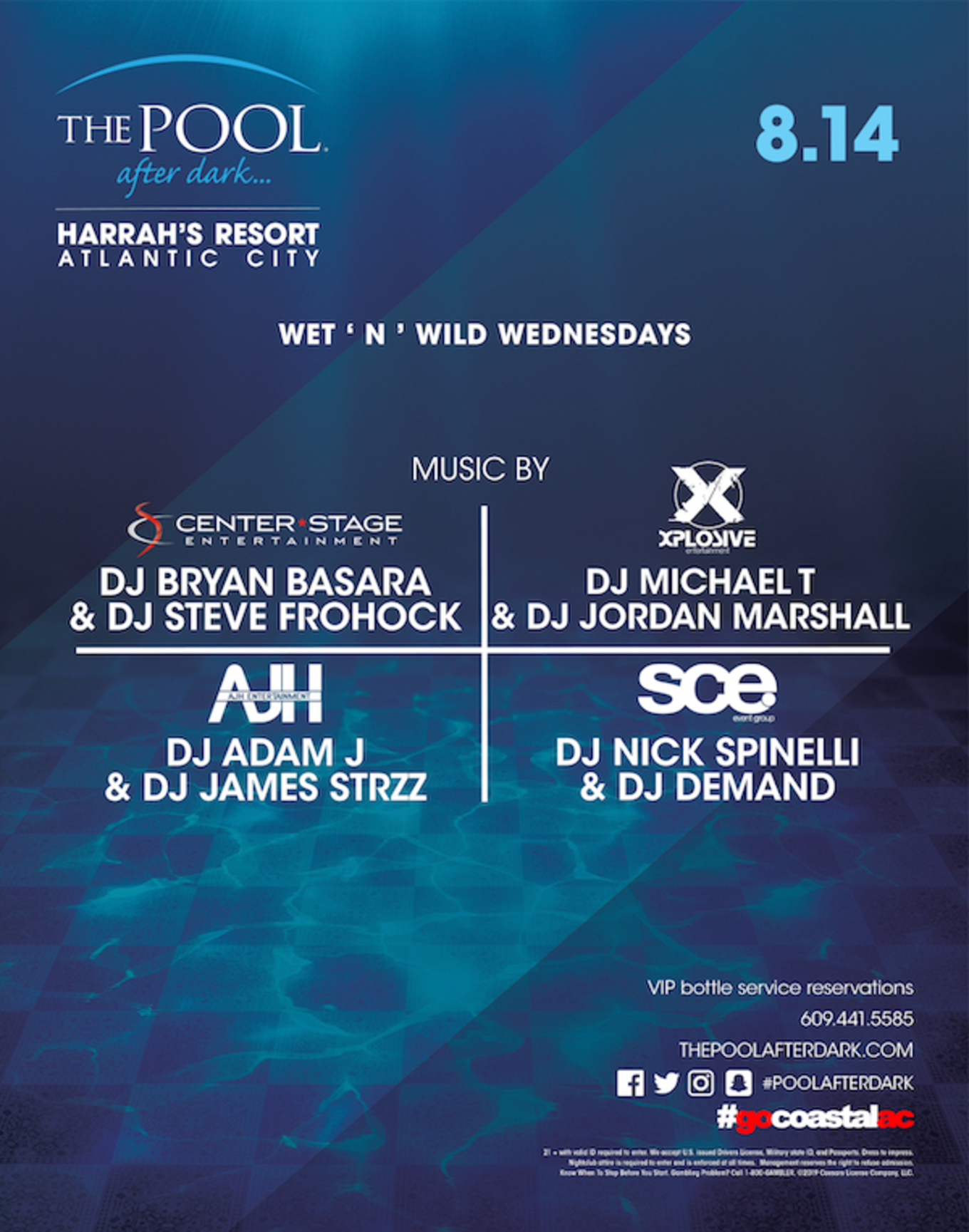 AC's Official Industry Party - Wet 'N' Wild Wednesdays at The Pool
