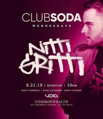 Club Soda w/ NITTI GRITTI
