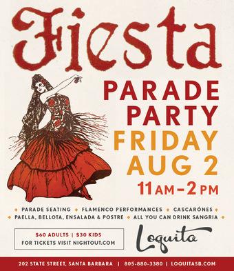 Loquita's Fiesta Parade Party 2019
