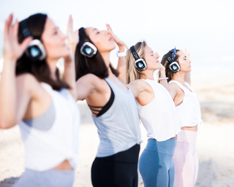 YDM x Breakfast Culture Club: Silent Disco Yoga