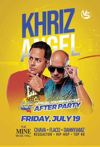 Official Colombian Fest After Party: Khriz Y Angel
