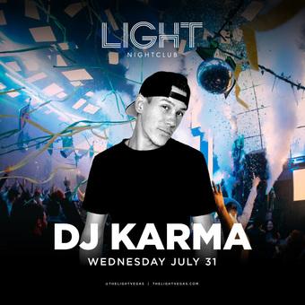DJ Karma at LIGHT Las Vegas
