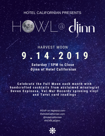 Hotel Californian Presents HOWL @ Djinn