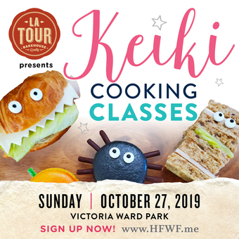 HFWF19 La Tour Bakehouse Presents Keiki Cooking Class