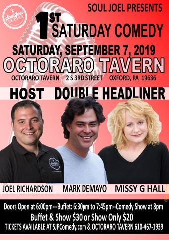 Oxford, PA: 1st Saturday Comedy at Octoraro