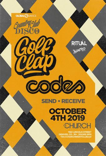 Country Club Disco Party with Golf Clap & Codes