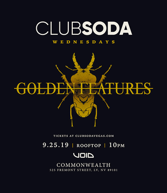 Club Soda w/ GOLDEN FEATURES