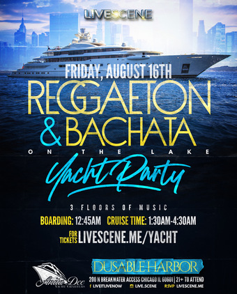 Bachata & Reggaeton Yacht Party