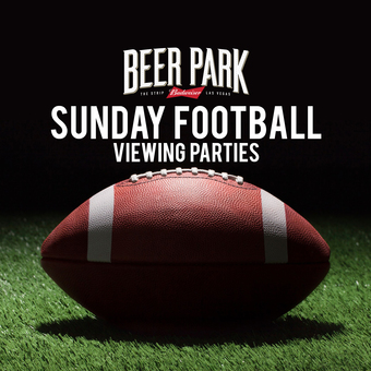 Beer Park Sunday Football Viewing Parties
