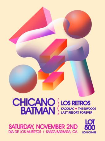 Día De los Muertos Santa Barbara w/ Chicano Batman 11.2.19
