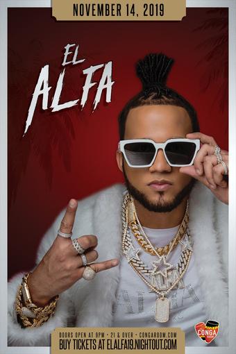 Conga Room presents El Alfa