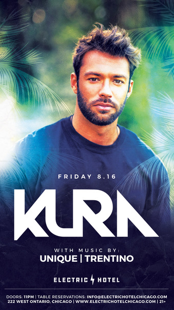 Electric Hotel presents KURA