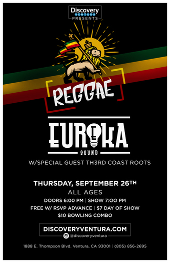 Eureka Sound w. Th3rd Coast Roots at Discovery Ventura