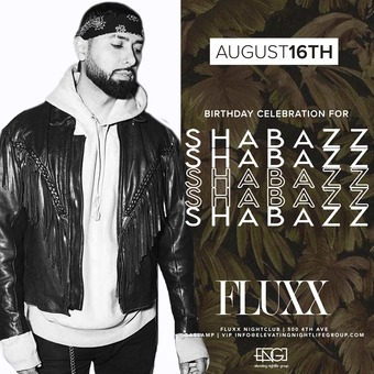 Fridays at FLUXX w/ Shabazz