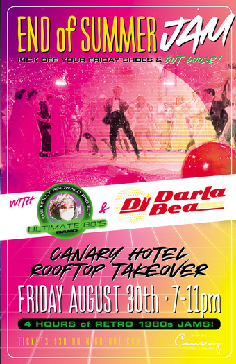 END OF SUMMER JAM! with The Molly Ringwald Project & DJ Darla Bea