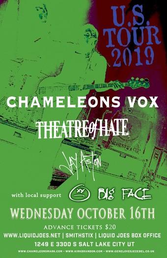Chameleons Vox US Tour 2019