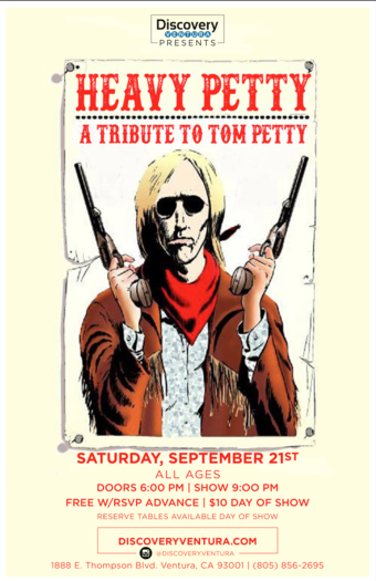 Heavy Petty - Tribute to Tom Petty at Discovery Ventura