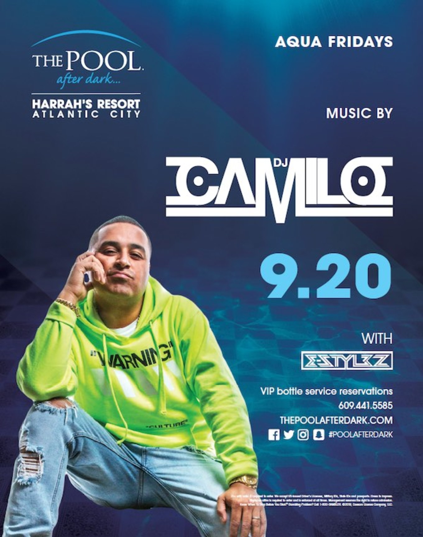 Aqua Fridays featuring DJ Camilo - Tickets - The Pool After