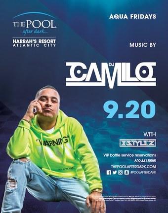 Aqua Fridays featuring DJ Camilo