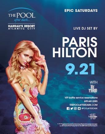 Epic Saturdays with Paris Hilton