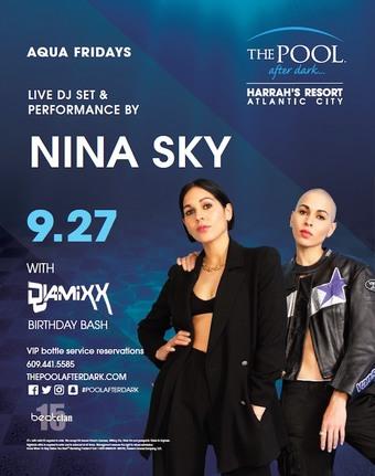 Aqua Fridays featuring Nina Sky