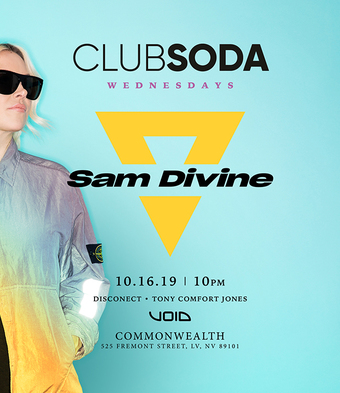 Club Soda w/ SAM DIVINE