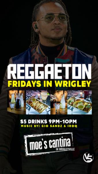 Reggaeton Night in Wrigley