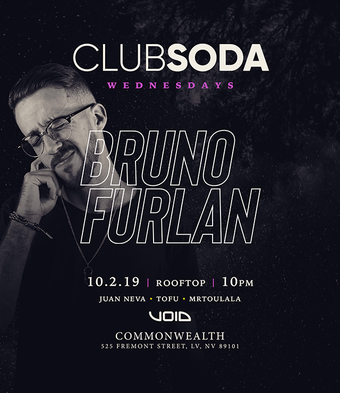 Club Soda w/ BRUNO FURLAN