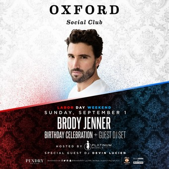 Labor Day Weekend with Brody Jenner
