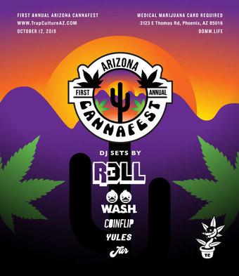 1st Annual Arizona Cannafest 10/12/19