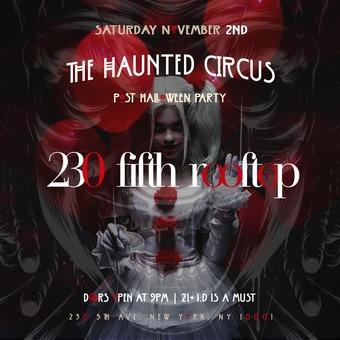 Halloween Weekend @ 230 Fifth -  Saturday 11/2