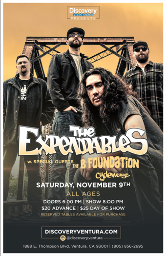 The Expendables w. B Foundation at Discovery Ventura
